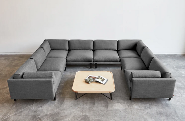 modern midcentury sectional