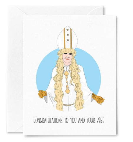 Moira Rose greeting card