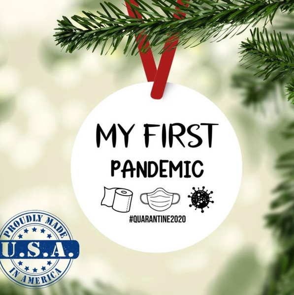 First Pandemic Ornament