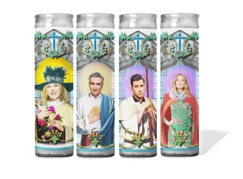 Schitt's Creek Saint Candles