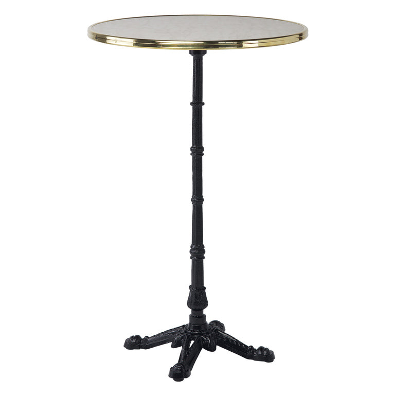 4 Prong Cast Iron Bistro Bar Height Table Base | touchGOODS