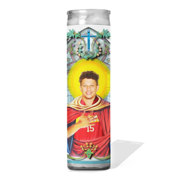 Patrick Mahomes Prayer Candle - Kansas City Chiefs