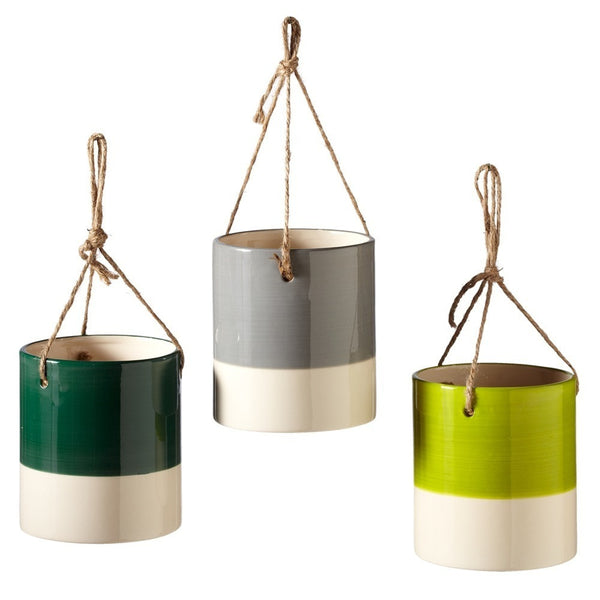 Small Hanging Colorblock Pot - touchGOODS