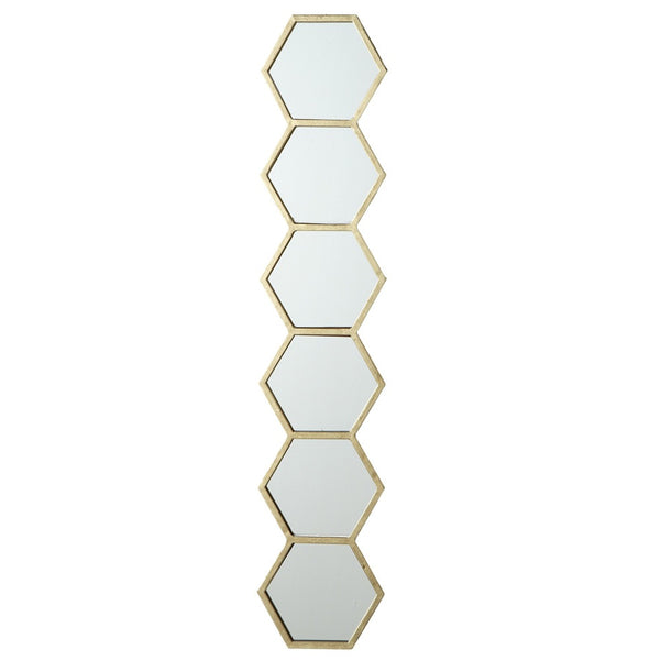 Gold Honey Comb Mirror - touchGOODS