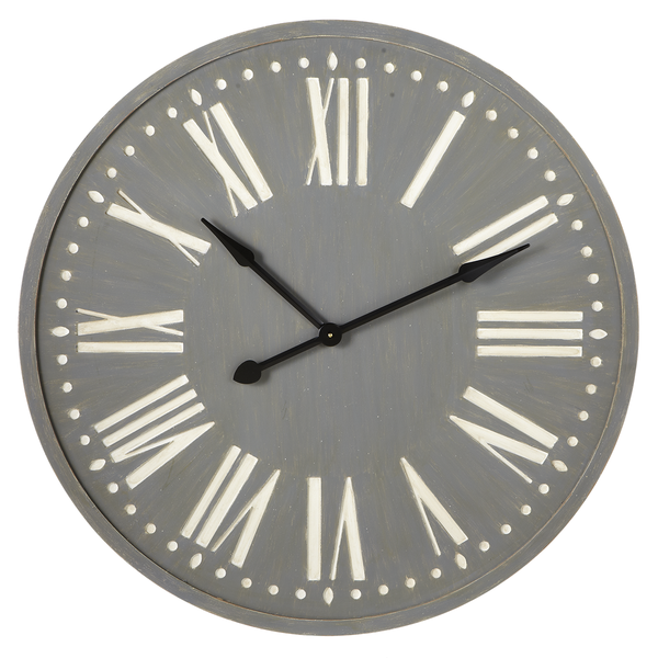 Grey Wall Clock | touchGOODS