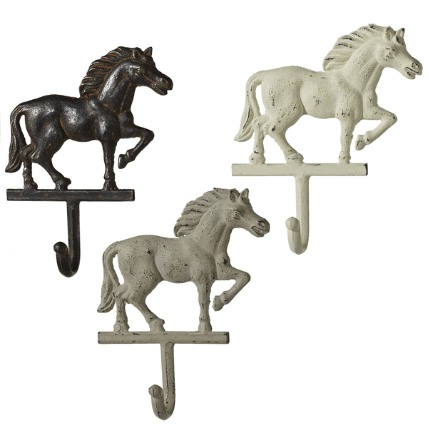 Cast Iron Horse Wall Hooks - touchGOODS