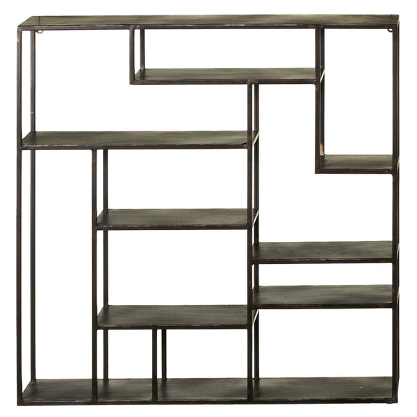 Stacked Rectangle Metal Wall Shelf - touchGOODS