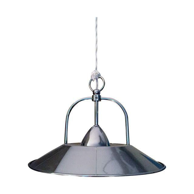 Retro-Style Chrome Pendant Light - touchGOODS