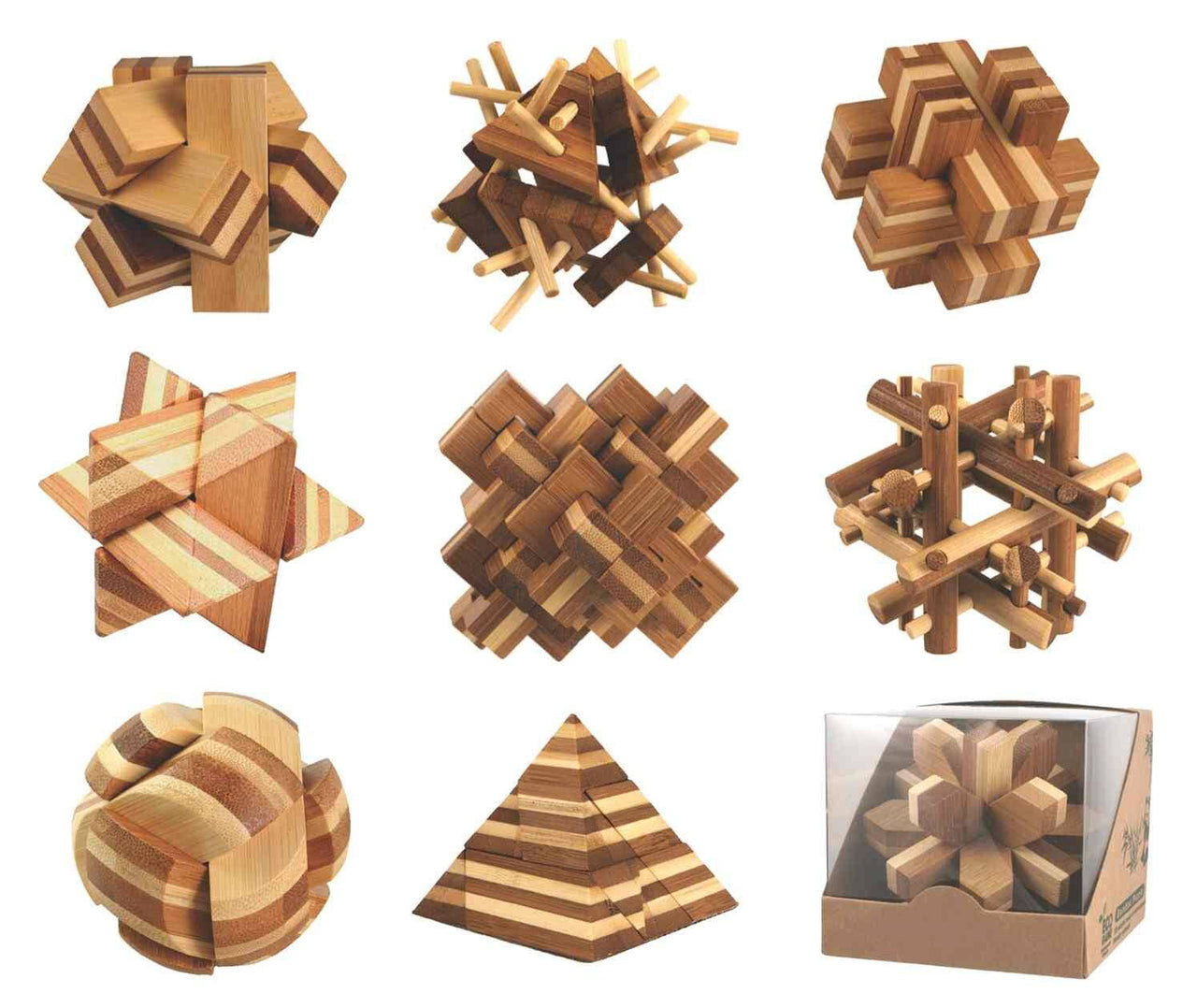 Eco-Friendly Bamboo Puzzles | touchGOODS