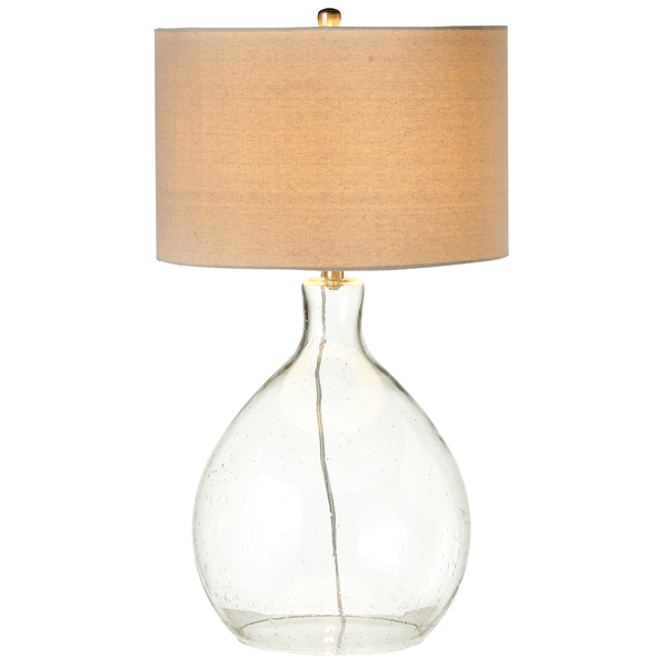 Oversized Bubble Glass Table Lamp