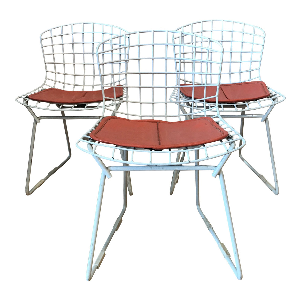 1950s Vintage Harry Bertoia for Knoll Child's Chairs - Set of 3 | touchGOODS