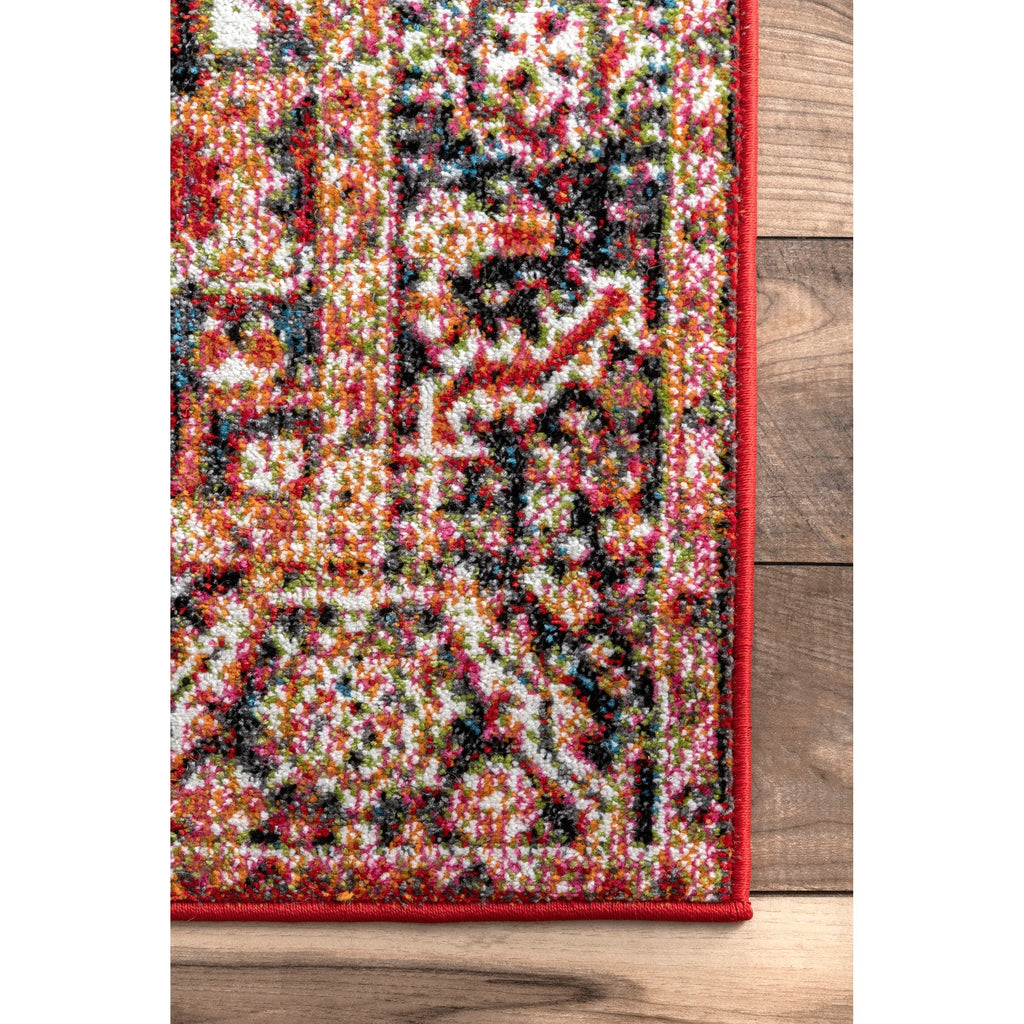 Indoor/Outdoor Emblem Patrice Area Rug | touchGOODS