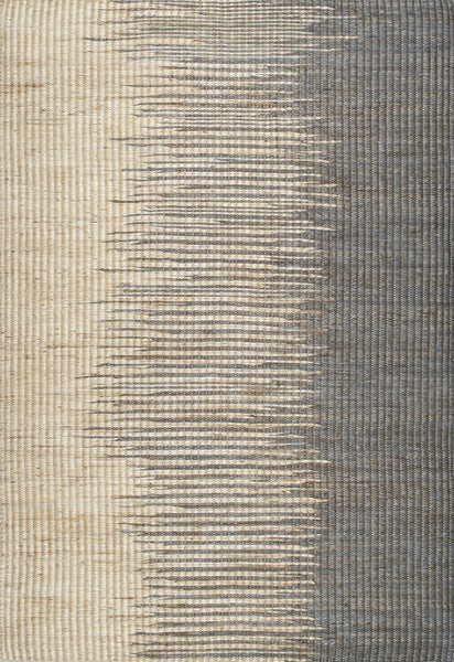 Natural Fiber Flatweave Area Rug 95% Jute 5% Cotton - 5 x 8 - touchGOODS