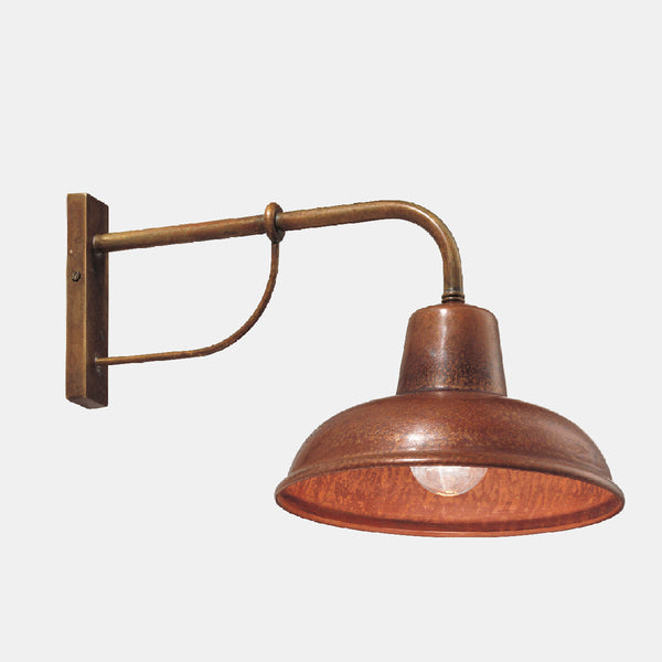 Il Fanale CONTRADA Brass & Copper Wall Sconce 243.05 | touchGOODS