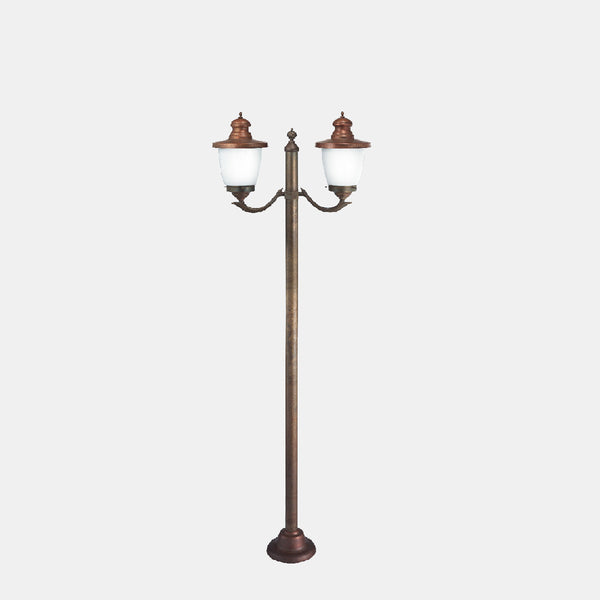 Venezia Outdoor 2 Light Lamp Post 248.20 | touchGOODS