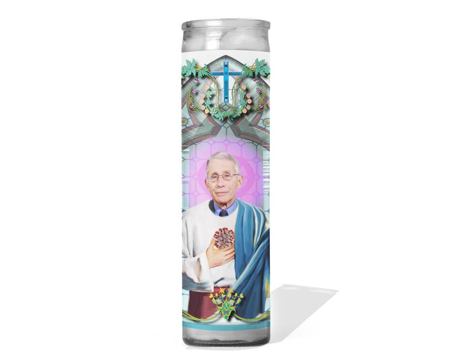 Dr. Fauci Prayer Candle | touchGOODS