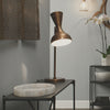 Pisa Mid-Century Swing Arm Table Lamp in Brass | touchGOODS