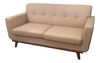 Mid Century Style Ivory Sofa | touchGOODS