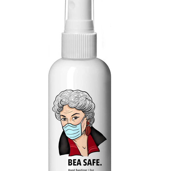 Bea Safe Hand Sanitizer - 4oz Plastic Spray Bottle