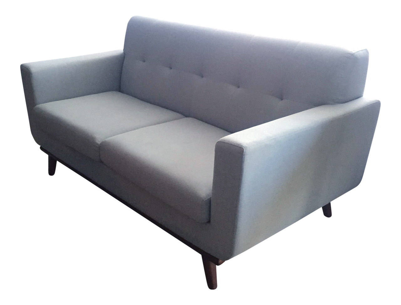 Mid Century Style French Gray Sofa | touchGOODS
