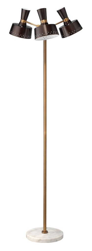 Trey Mid-Century 3 Light Floor Lamp | touchGOODS