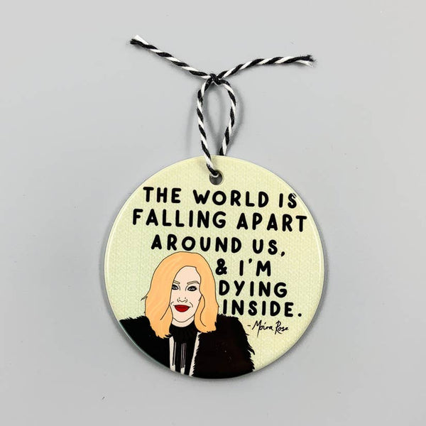 Schitt's Creek Moira Holiday Ornament