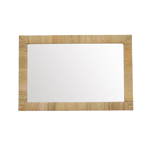 Bimini Rectangular Rattan Mirror | touchGOODS