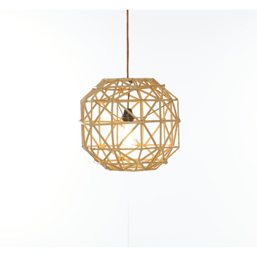 Rattan Hexagon Pendant | touchGOODS