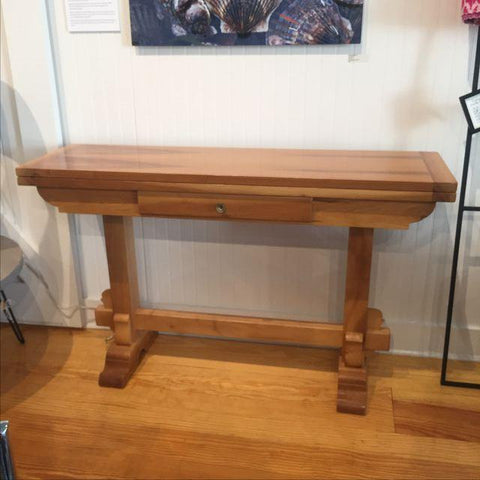 ... Walnut Folding Console Table   TouchGOODS ...