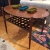 Lane Walnut Side Table - touchGOODS