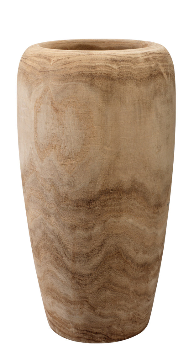 Ojai Tall Wooden Vase | touchGOODS