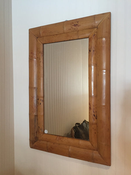 Double Frame Bamboo Mirror - touchGOODS