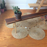 Cute Walnut Slab Table or Plant Bench - touchGOODS