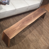 Solid Wood Live Edge Walnut Table - touchGOODS