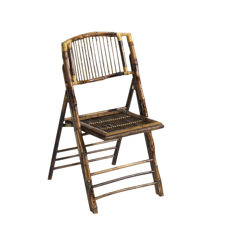 Rattan Folding Banquet Chairs - Set of 4 | touchGOODS