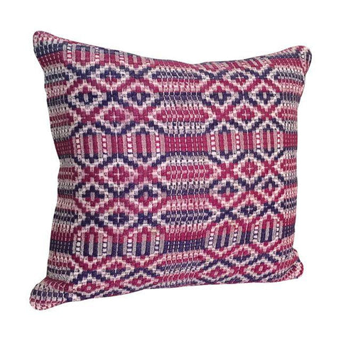 Purple & Magenta Vintage Kilim Throw Pillow | touchGOODS - touchGOODS