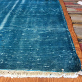Vintage Over Dyed Turkish Area Rug 3′2″ × 6′4″ - touchGOODS