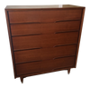 Benck Mid-Century Walnut Highboy Dresser - touchGOODS