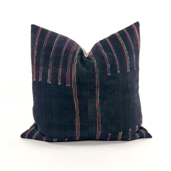 Lao Tribal Hemp Pillow