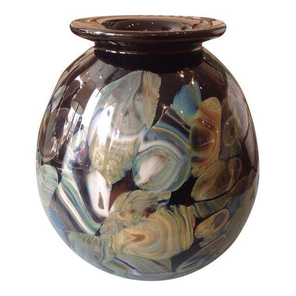 Robert Eickholt Glass Vase
