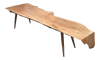 Live Edge Spalted Maple Coffee Table | touchGOODS