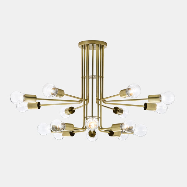 Il Fanale ASTRO 16 Light Chandelier 276.10 | touchGOODS