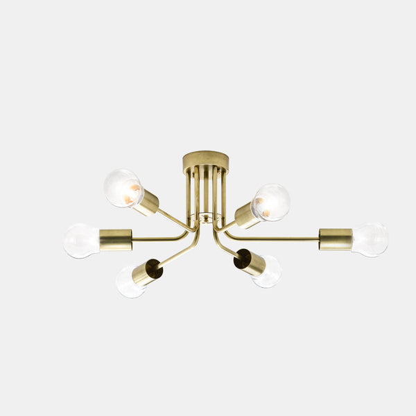 Il Fanale ASTRO 6 Light Ceiling Light 276.11 | touchGOODS