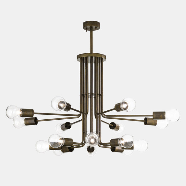 Il Fanale ASTRO 16 Light Chandelier 276.13 | touchGOODS