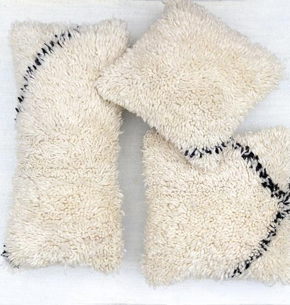 Beni Moroccan Wool Pillow