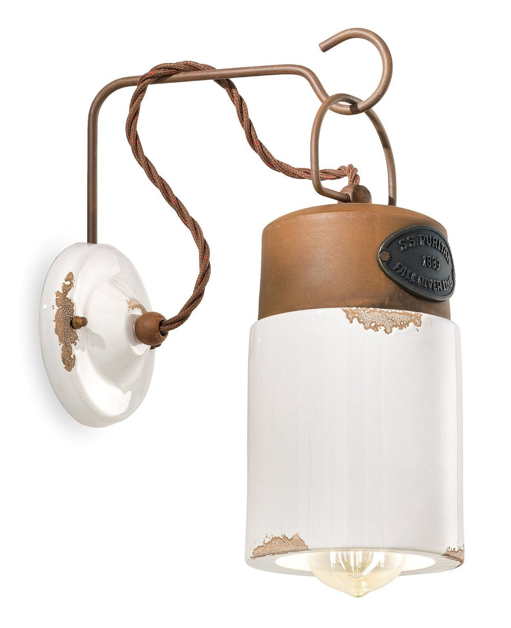 Ferroluce Industrial Wall Light C1621 | touchGOODS