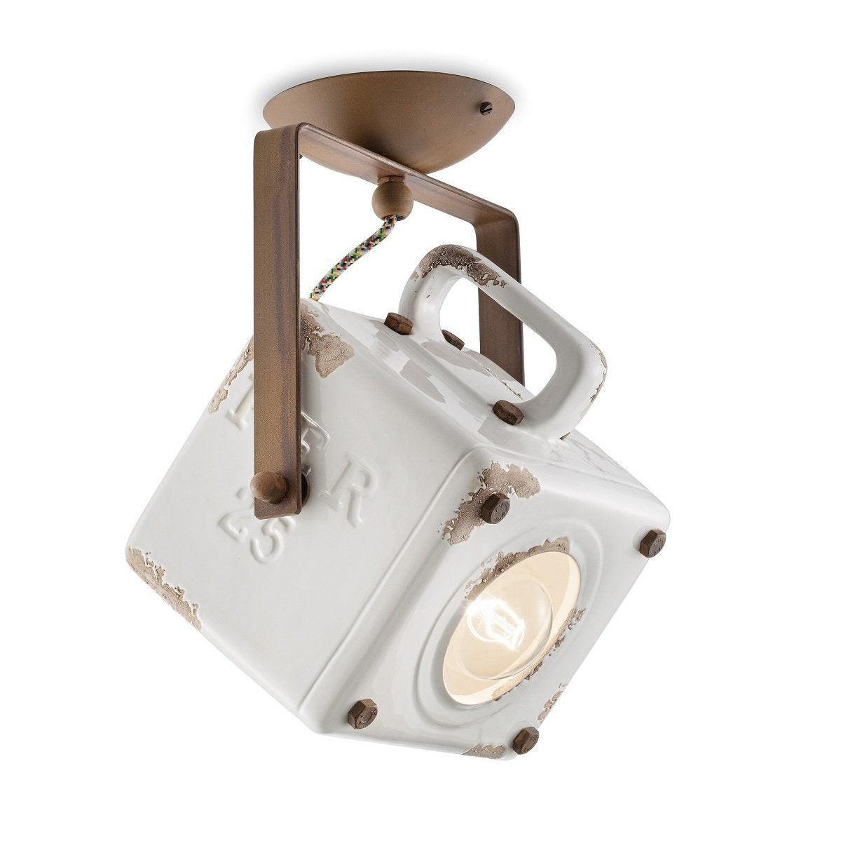 Ferroluce Industrial Ceiling Light C1653 | touchGOODS
