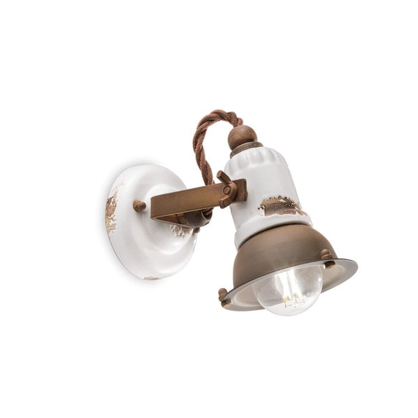 Ferroluce Loft Ceramic Wall Light C1675 | touchGOODS