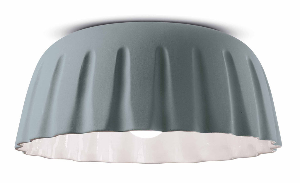 Ferroluce MADAME GRES Ceramic Ceiling Light c2572 | touchGOODS