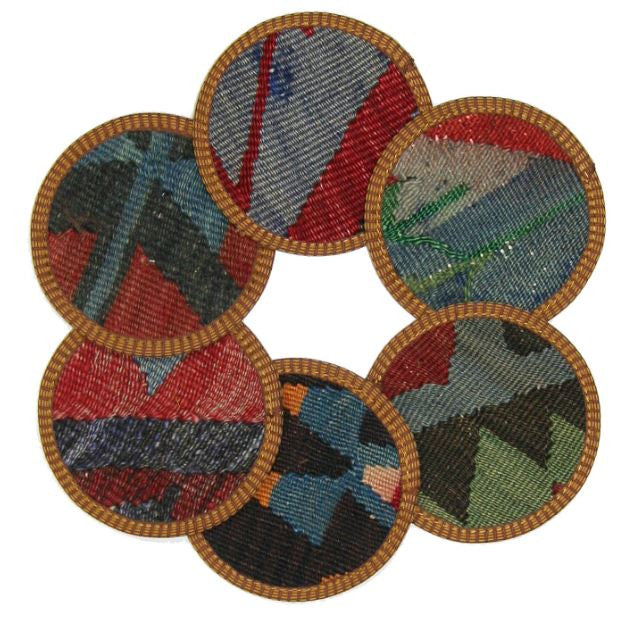 Assorted Kilim Coasters - touchGOODS